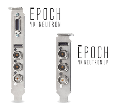 Epoch | 4K Neutron. Full Height and Low Profile Form Factors.