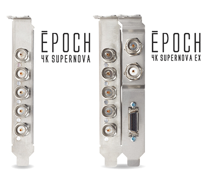 Epoch | 4K Supernova. Optional Connectivity with Epoch | 4K Supernova EX.