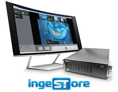 IngeSTore Server 3G. FREE IngeSTore Multi-channel ingest.