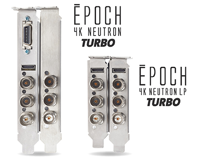 Epoch | 4k Neutron Turbo. Full Height and Low Profile Form Factors.