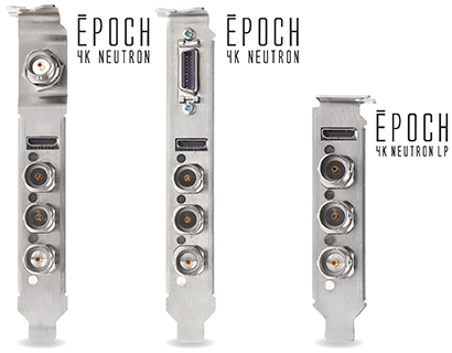 Epoch | 4k Neutron. Full Height and Low Profile Form Factor.