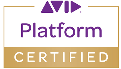 Bluefish444: Avid Platform Certified