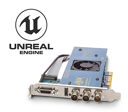 Bluefish444 Announces Video I/O integration with Unreal Engine