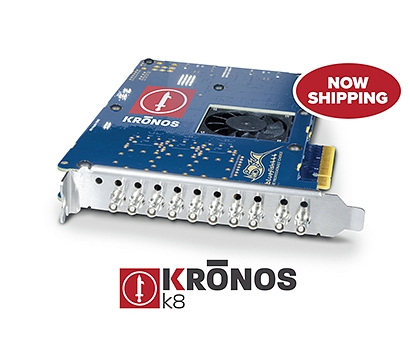 Bluefish444 Announces KRONOS K8 is Now Shipping