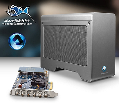 Bluefish444 announces Epoch compatibility with Akitio Thunderbolt 3 devices