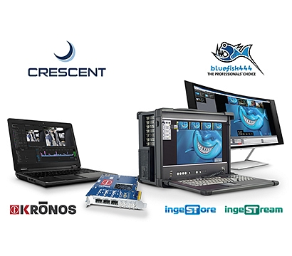 Crescent, Inc demonstrate Bluefish444 KRONOS hardware, IngeSTream and IngeSTore software solutions at Inter BEE 2018